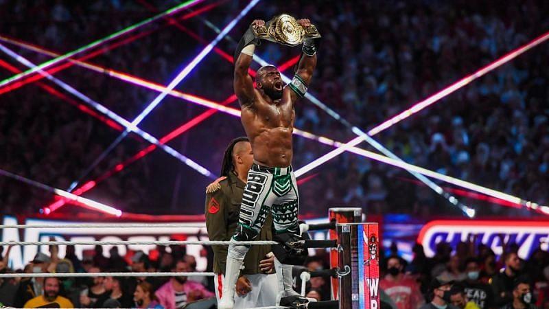 Apollo Crews ha sido uno de WWE