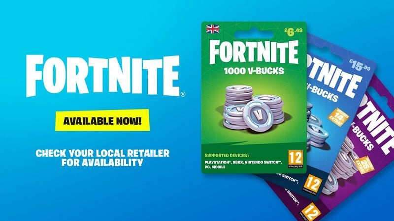 Fortnite V-Bucks cards are a proper way for players to get their hands on the Fortnite redeem codes