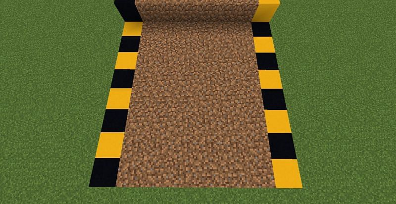 Farming area (Image via Minecraft)
