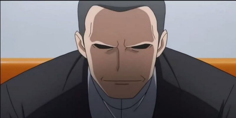 Giovanni in the anime (Image via The Pokemon Company)