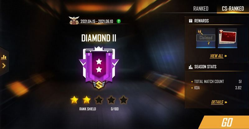 The CS-Ranked Season 6 ends on June 10th