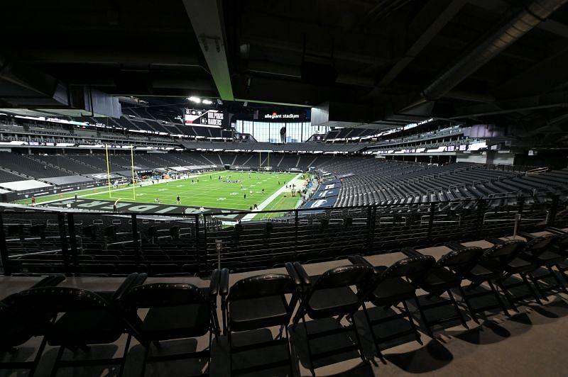 Allegiant Stadium home of the Las Vegas Raiders
