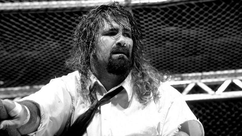 Mick Foley is a three-time WWE Champion
