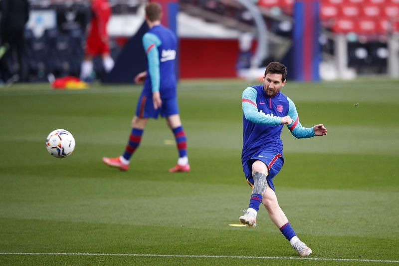 FC Barcelona captain Lionel Messi (Photo by Eric Alonso/Getty Images)