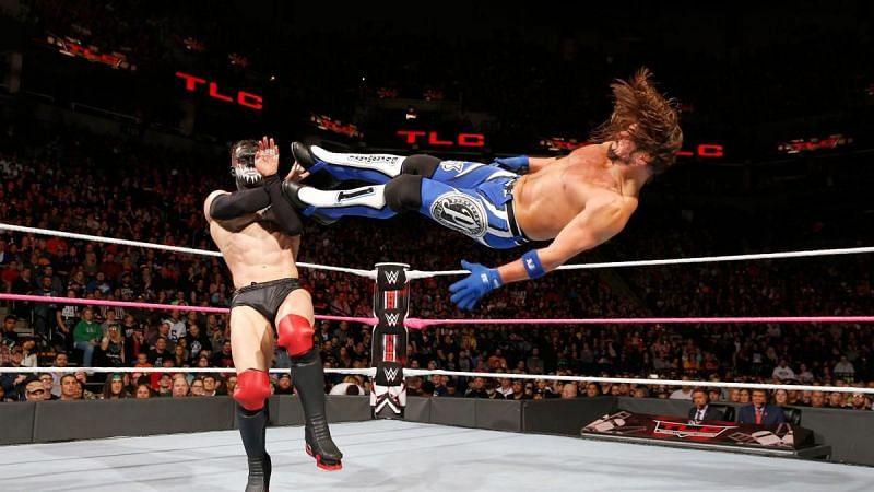 Finn Balor defeated AJ Styles in an 18-minute match