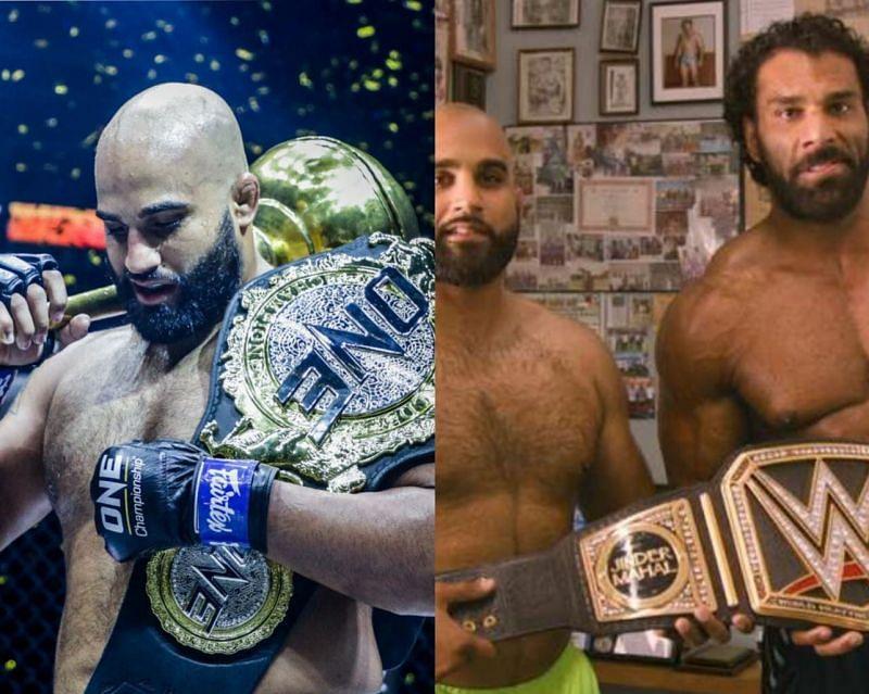 Arjan Singh Bhullar won the ONE Championship heavyweight title by beating Brandon Vera