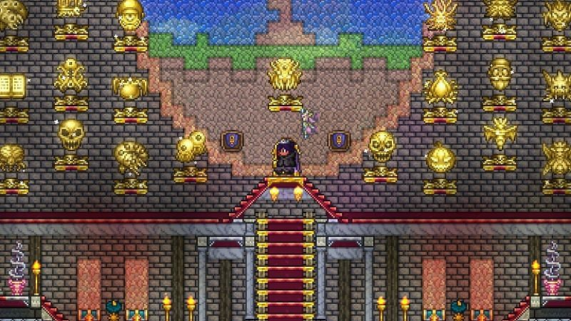 How to get the Ankh Shield in Terraria
