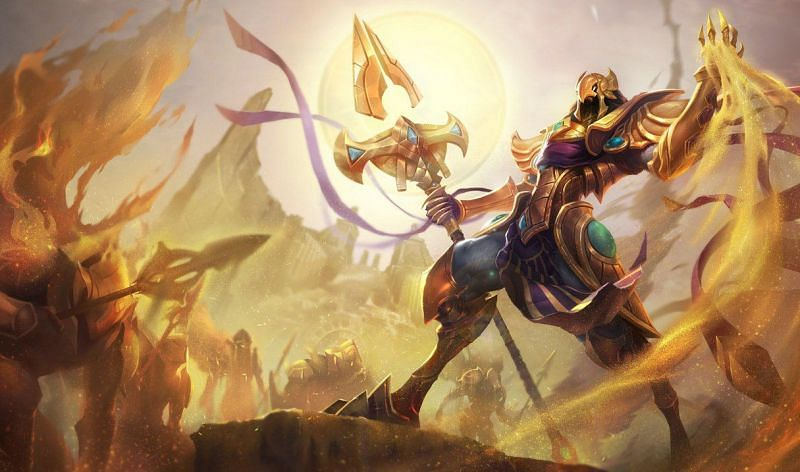 Azir had always been one of the hardest champions to master in League of Legends (Image via Riot Games)