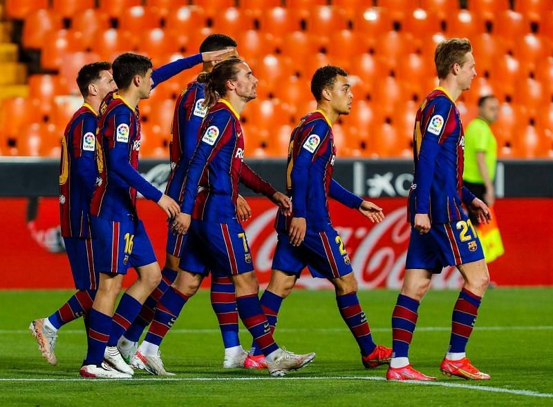 Barcelona condemn Valencia in a nerve-wracking game!
