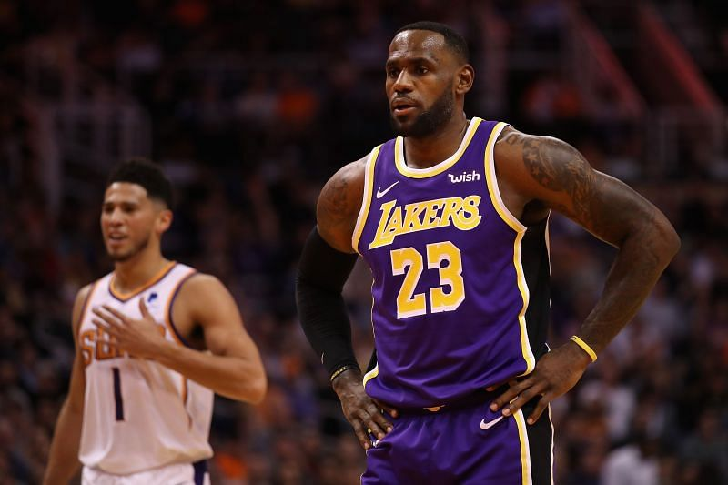 LeBron James #23 of the Los Angeles Lakers will need to play great in the NBA Playoffs.