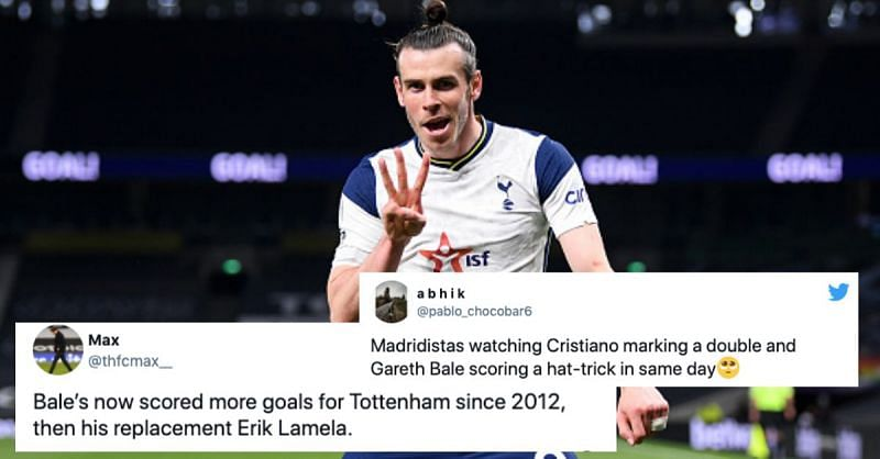 Gareth Bale was on fire for Tottenham Hotspur