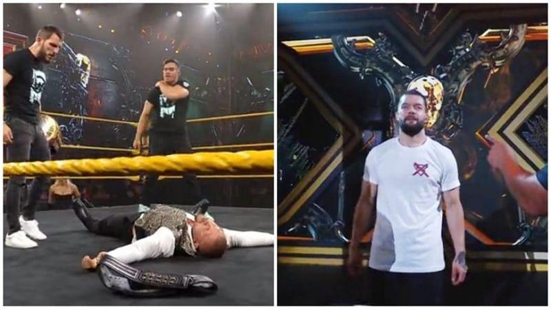 Finn Balor returned on NXT this week