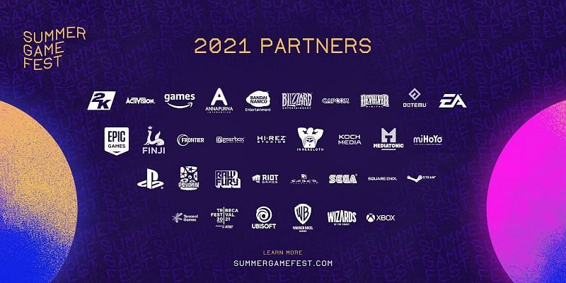 Summer Game Fest partners (Image by Summer Game Fest)