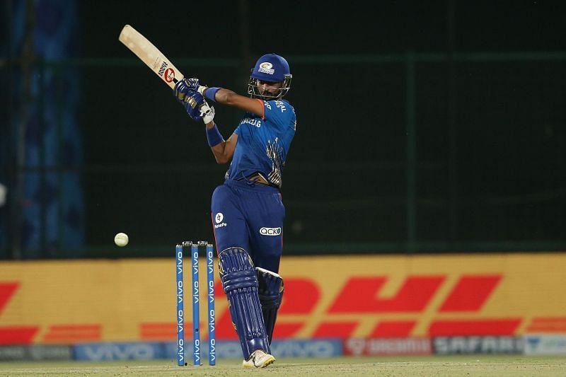 Krunal Pandya played a 39-run knock in MI