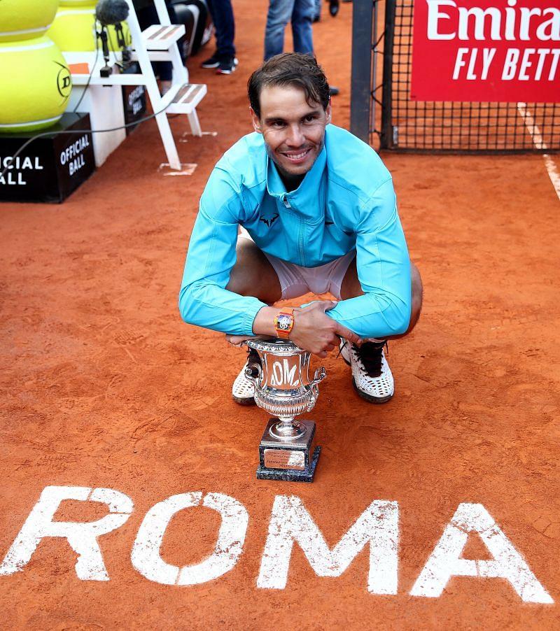 Rafael Nadal at 2019 Italian Open