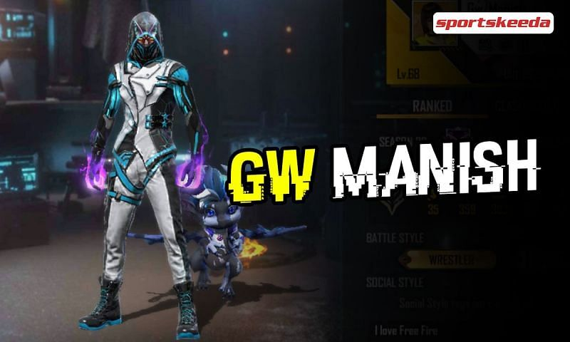 GW Manish is an up-and-coming Free Fire YouTuber