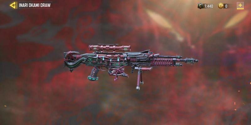 Legendary Arctic .50 - Foxfire(Image via Activision)