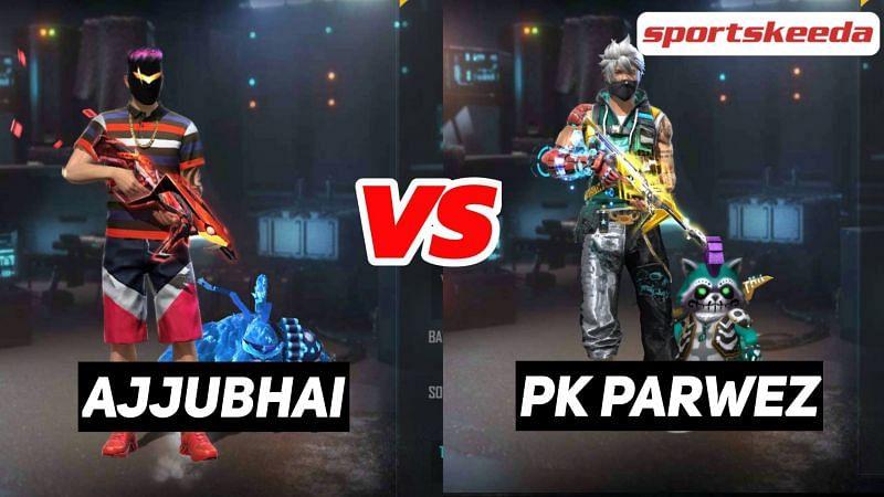 Ajjubhai (Total Gaming) vs PK Parwez (PK Gamers)