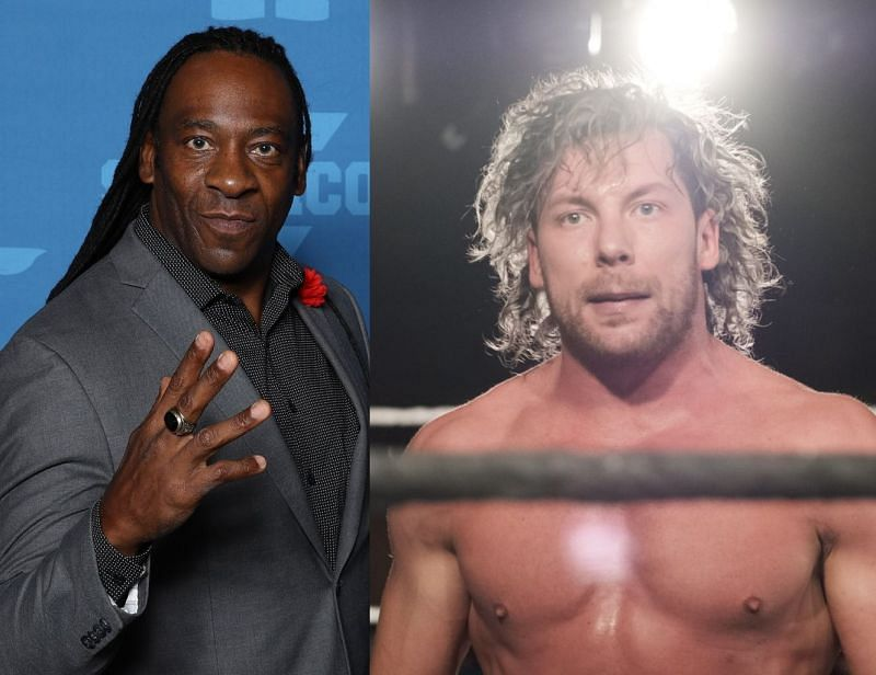 Booker T is not pleased with Kenny Omega