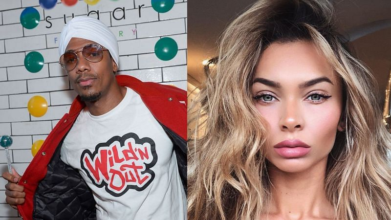 (L) Nick Cannon and (R) Alyssa Scott (Photo by Bryan Steffy/Getty Images for Sugar Factory American Brasserie & image from Reddit)