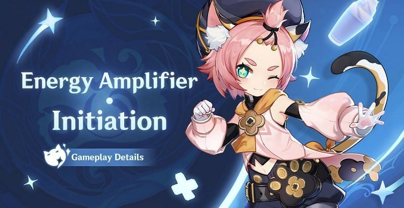 Diona featured in the Energy Amplifier Initiation event (Image via Genshin Impact Twitter)