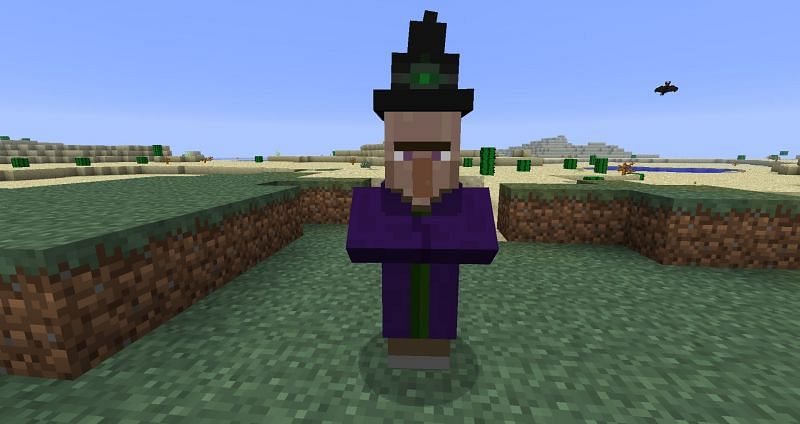 Minecraft witch (Image via minecraftforum)