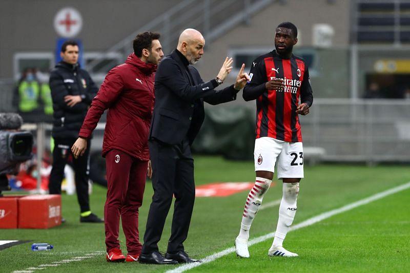 Fikayo Tomori scored his first goal for AC Milan