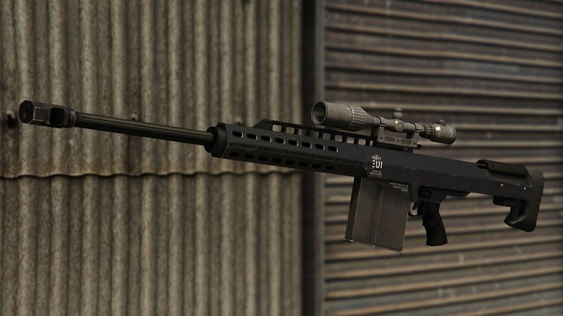 The Heavy Sniper's sheer destructive prowess is too good to ignore (Image via GTA Wiki)