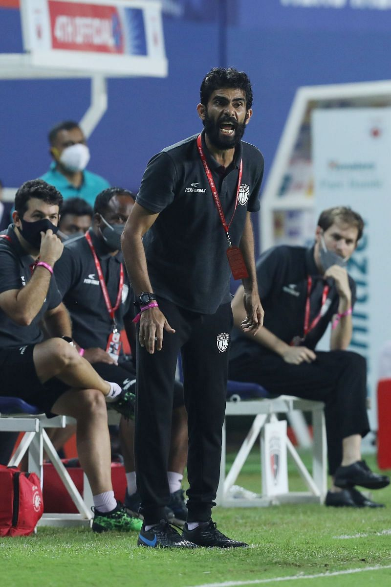 Khalid Jamil played a vital role in leading NorthEast United FC to the ISL playoffs