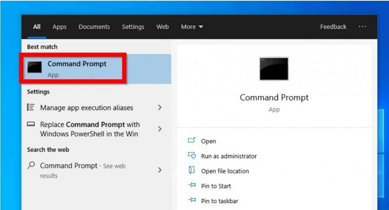 Command prompt (Image via iTechGuides)