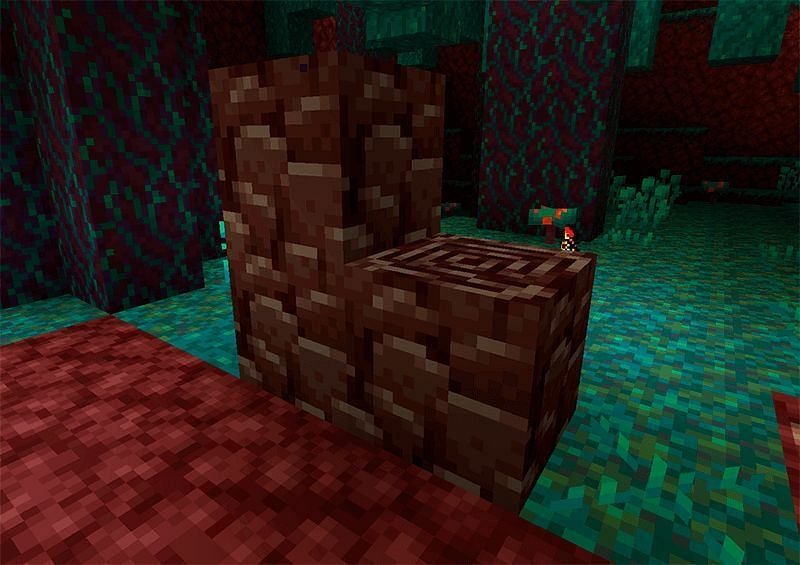 Ancient debris in Minecraft (Image via tlauncher)
