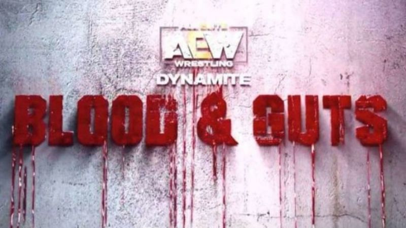 Poster for AEW Blood & Guts