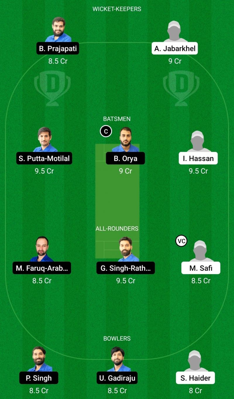 First Contact vs MTV Stallions Dream 11 Team - ECS T10 Kill 2021 Game & and.