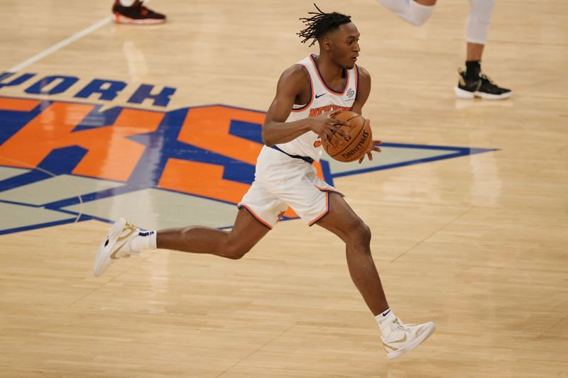 Immanuel Quickley of the New York Knicks