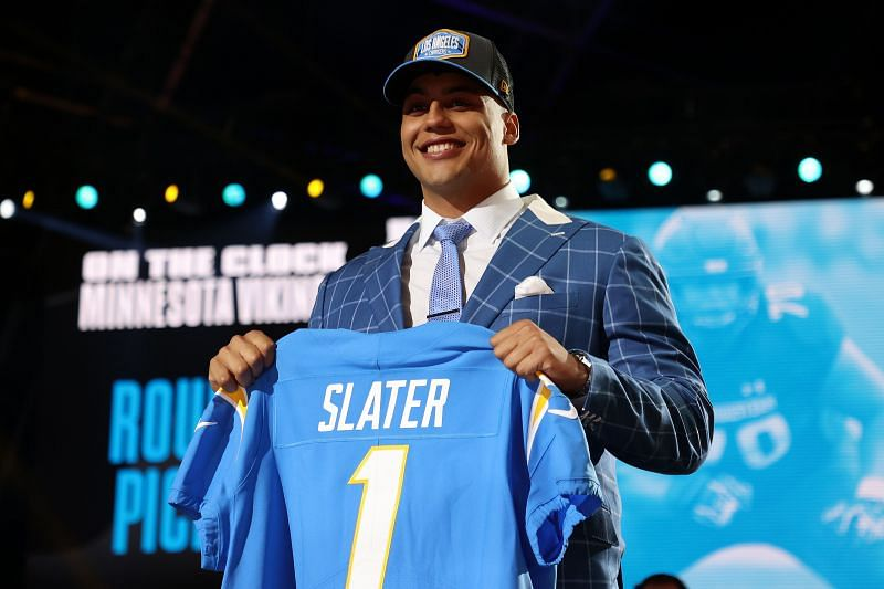 Rashawn Slater drafted by the LA Chargers at the 2021 NFL Draft