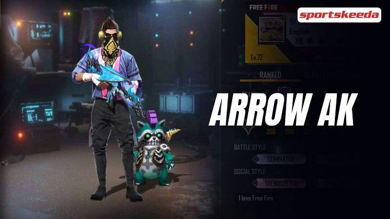 Arrow AK's Free Fire ID details