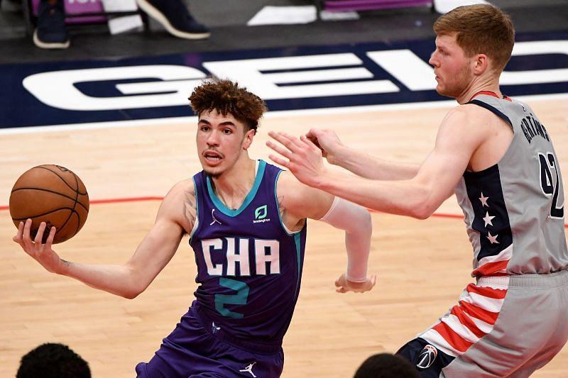 Charlotte Hornets's LaMelo Ball