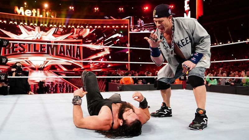 In 2019, Elias was involved in a segment with John Cena at WrestleMania 35