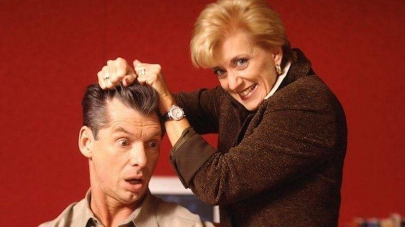 Linda McMahon with Vince McMahon