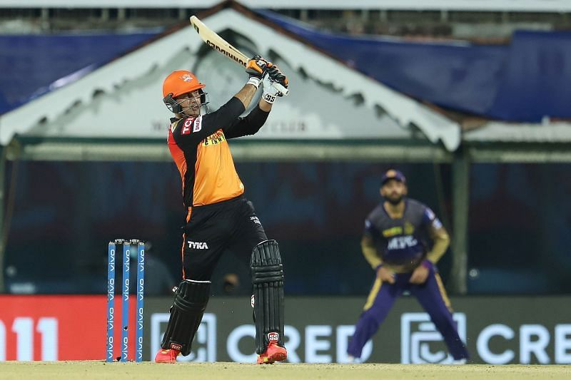 Nabi has played a couple of matches for the Sunrisers Hyderabad in IPL 2021 [P/C: iplt20.com]