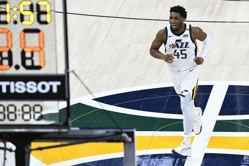 Donovan Mitchell has been prolific throughout the season for the Utah Jazz