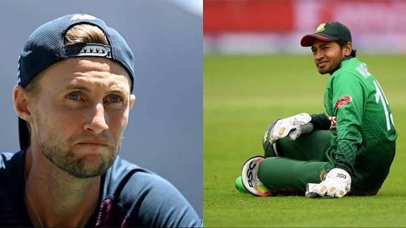 Mushfiqur Rahim (R) is now above Joe Root in the ICC ODI Rankings for Batsmen