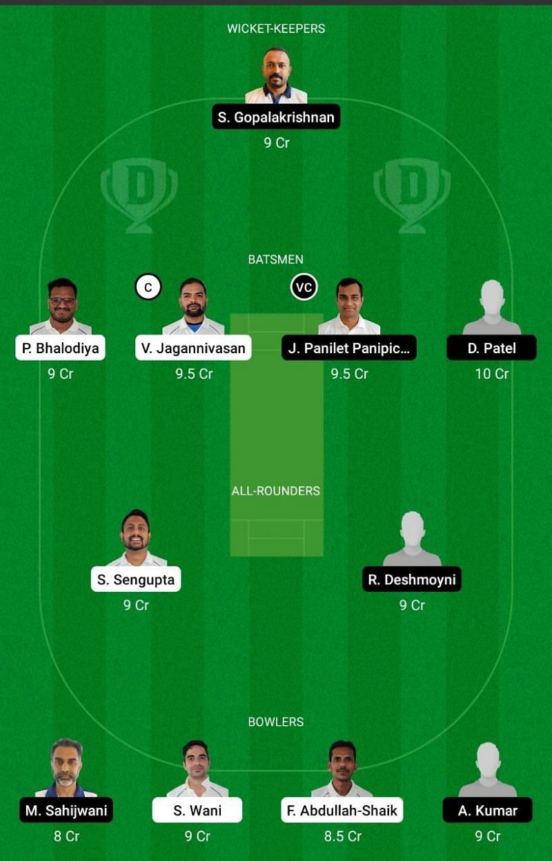 PSV vs PCR Dream11 Team