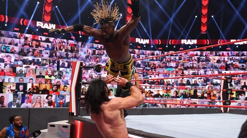Kofi Kingston and Drew McIntyre will have an interference-free match on RAW