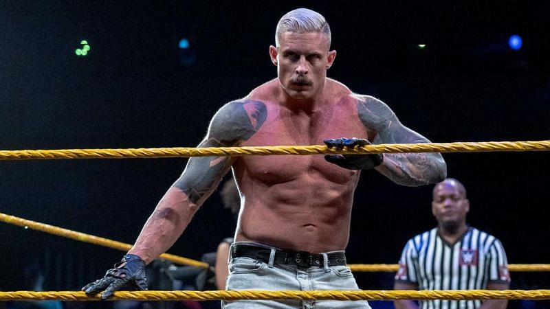 Dexter Lumis is one of the most unique characters currently on WWE NXT television