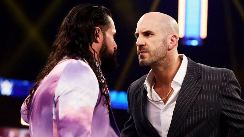 Seth Rollins is itching to get his hands on the Swiss Cyborg, Cesaro
