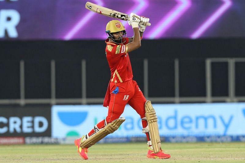 KL Rahul scored an unbeaten 91 for the Punjab Kings [P/C: iplt20.com]
