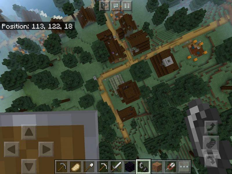 Abandoned taiga village (Image via Minecraft-seeds)