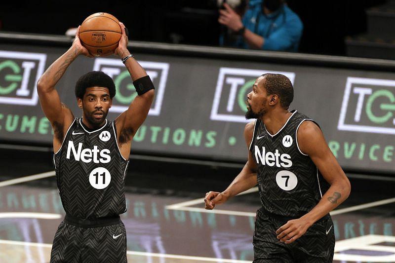 The Brooklyn Nets take on the Milwaukee Bucks next.