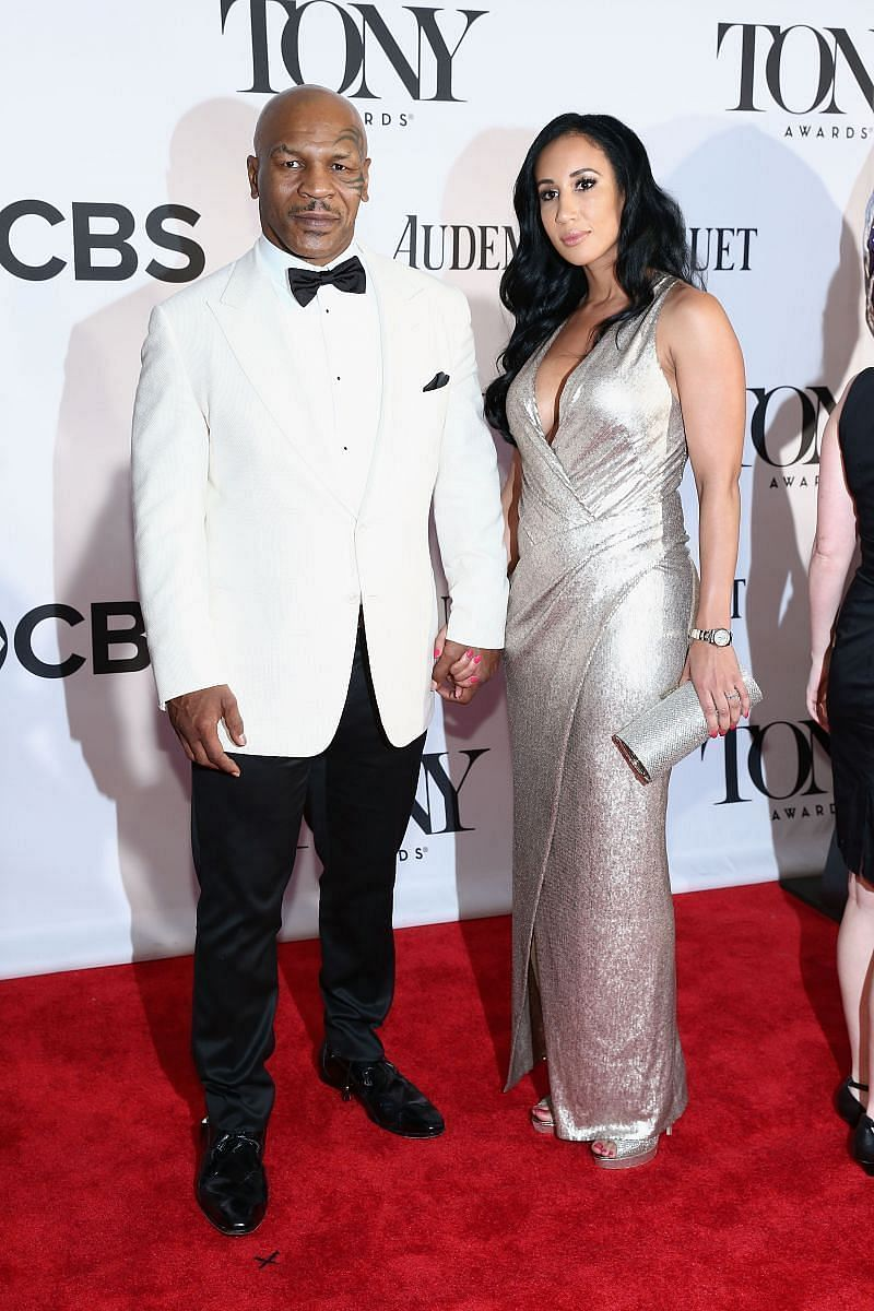 Mike Tyson with wife Lakiha Spicer